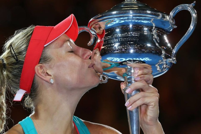 Grand Slam Champion Angelique Kerber :)