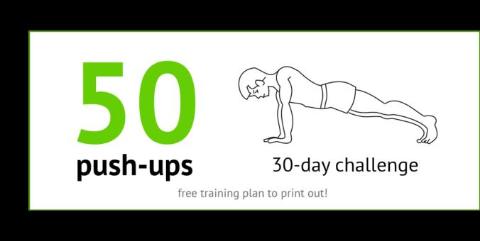 30 Days - 50 Push-Ups