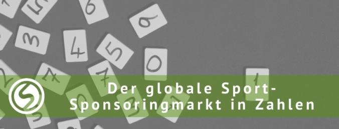 Sponsoo Blog Der globale Sport-Sponsoringmarkt in Zahlen