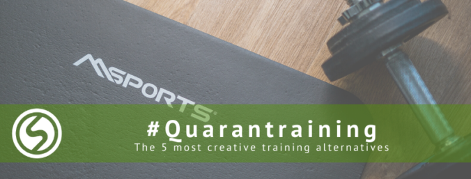 The five most creative training alternatives at home during quarantine